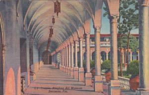 Florida Sarasota Loggia Ringling Art Museum Curteich