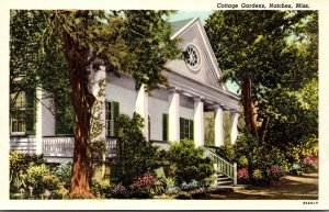 Mississippi Natchez Cottage Gardens Built 1790 Curteich