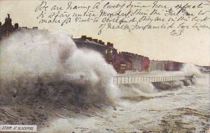 England Blackpool The Storm 1907
