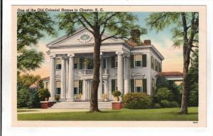 CHESTER, South Carolina; One of the Old Colonial Homes, 30-40s