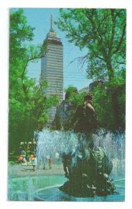 Alameda Park Mexico City Fountain Latin American Tower 1972