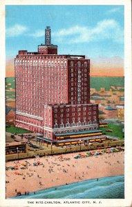 New Jersey Atlantic City The Ritz-Carlton 1950