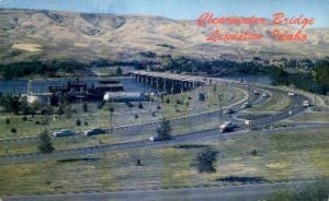 Clearwater Bridge - Lewiston, Idaho ID