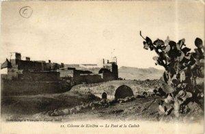 CPA AK Colonne de Kenifra Le Pont et la Casbah MAROC (720310)