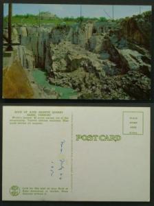 Rock of Ages Granite Quarry Barre Vermont circa 1954