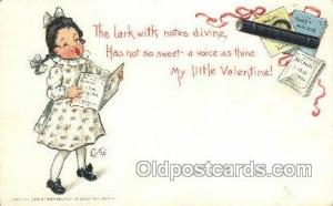 Artist Curtis, Valentines Day Postcard Post Cards