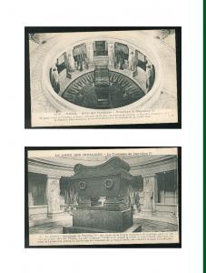 France Tombeau Napoleon I Tomb of Napoleon I Dome Des Invalides 2X Postcard