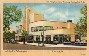 17052 Greyhound Bus Terminal, Washington, DC 1944