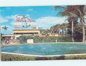 Pre-1980 BAHIA MAR YACHT CENTER RESTAURANT Fort Lauderdale Florida FL hn0784