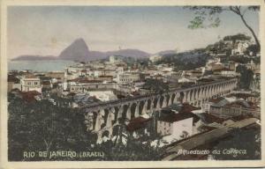 brazil, RIO DE JANEIRO, Aqueducto da Carioca (1930s)