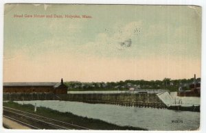 Holyoke, Mass, Head Gate House and Dam