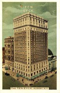 NY - Albany. The Ten Eyck Hotel