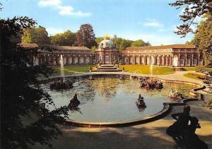 Eremitage Neues Schloss mit Wasserspielen Bayreuth Brunnen, Fountain Castle