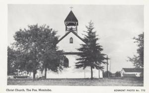 THE PAS , Manitoba , Canada , 1940s ; Christ Church