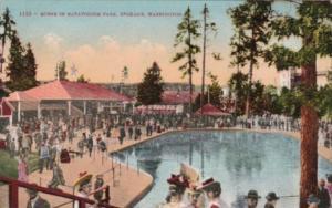 Washington Spokane Scene In Natatorium Park