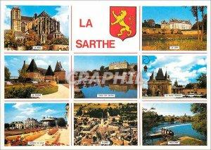 Modern Postcard Le Mans Sarthe