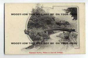 ft690 - Japan - Kanaya Hotel & Bridge , Nikko - postcard