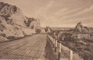 Cedar Pass Badlands Nat Monument South Dakota Albertype