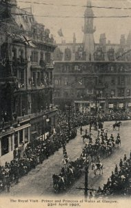 GLASGOW , Scotland , 1900-10s ; Royal Visit