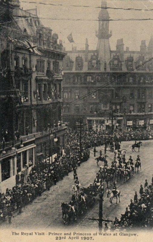 GLASGOW , Scotland , 1900-10s ; Royal Visit