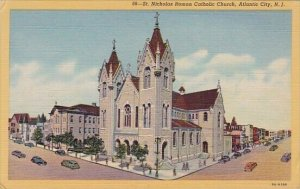 Saint Nicholas Roman Catholic Church Atlantic City New Jersey