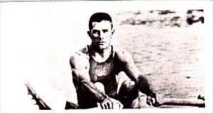 Brooke Bond Trade Card Olympic Greats No 34 John B Kelly USA