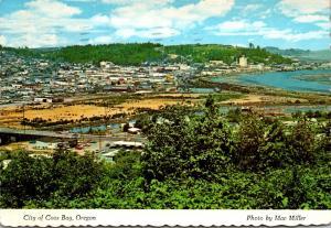 Oregon Coos Bay Panoramic View 1986