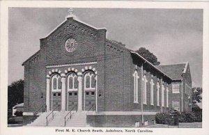 North Carolina Asheboro First M E Church South 1950