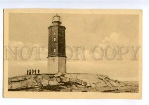 235401 FINLAND HANGO LIGHTHOUSE Vintage postcard