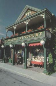 TERREBONNE , Quebec,  Canada , 1987 , Librairie Lincourt