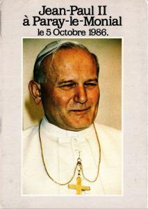 CPM CATHOLIC POPE Jean Paul II á Paray le Monial (318181)