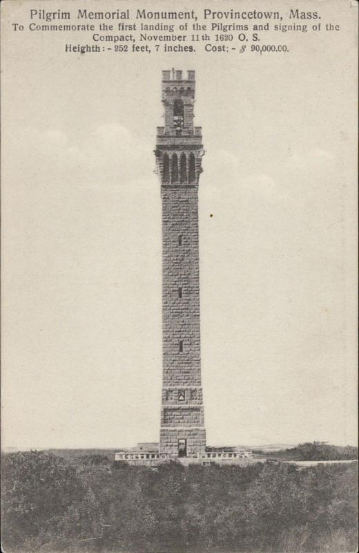 pilgrim memorial Monument Provincetown Massachusetts