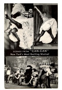 NY - New York City. Shubert Theatre, Scenes from Can-Can