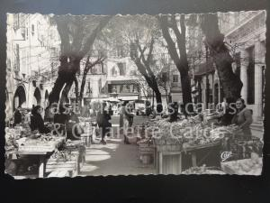 GRASSE Place aux Aires (A MARKET SCENE) RP c1957 - by Cie des Arts Photo  140515