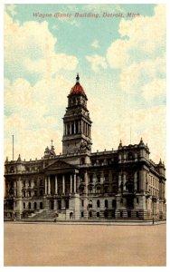 Michigan  Detroit  Wayne County Building