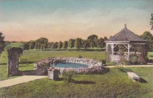 Kansas Atchison Casira and Lily Pond Mount Scholastica College Handcolored Al...