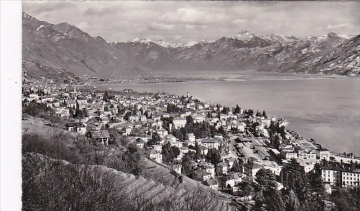 Switzerland Locarno Panorama Photo