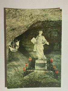 UNUSED PICTURE POSTCARD - GOZO MALTA RABAT GROTTO SCHOOL BERNINI    (KK1859)