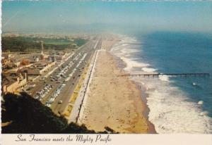 California San Francisco Beach and Great Highway