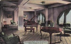 Washington Seattle Washington Hotel Mezzanine Floor Grand Piano