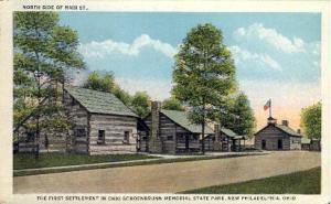 Ohio Schoebrunn Memorial State Park New Philadelphia OH Unused