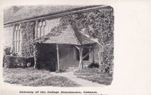 COBHAM, Surrey, England, 1900-1910's; Gateway Of The College Almshouses