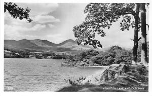 Lake District Coniston Lake and Old Man