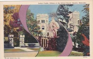 Nebraska Omaha Joslyn Castle Offices Of The School Board Curteich