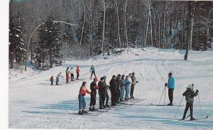 The Famous Thunder Ski School, Thunder Mountain Ski Area, Mohawk Trail, Charl...