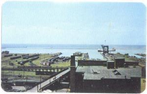 Harbor Scene, Cleveland Ohio, OH, Chrome