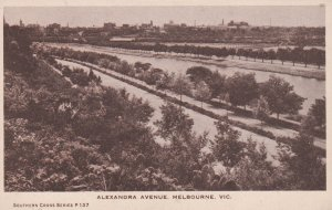 MELBOURNE , Victoria , 10-30s ; Alexandra Avenue
