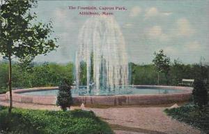 Massachustetts Attleboro The Fountain Capron Park