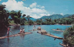 Rafting Party on the Rio Grande River, Jamaica,40-60s