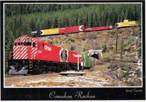 Trains , Canadian Rockies , 1992